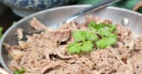 Kalua Pork Slow Cooked made with three simple ingredients. Feed a crowd this this easy recipe #pork #crockpot #lowcarb #instantpot #instantpot |www.thefoodieaffair.com