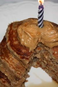 Oatmeal Banana Bread Pancakes - The Foodie Affair