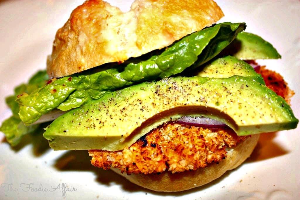 Sweet Potato Veggie Burger - The Foodie Affair
