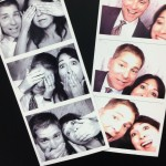 The hubby and I goofing around in the photo booth!