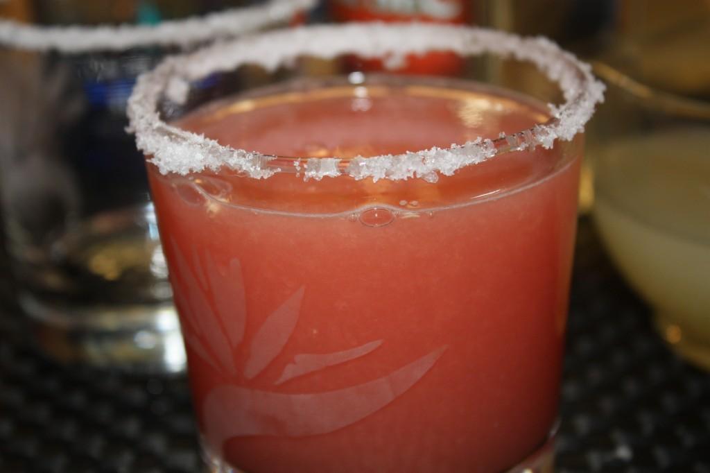 Watermelon Margarita - The Foodie Affair
