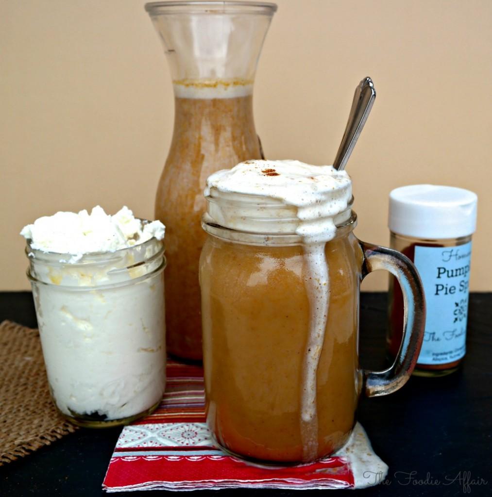 Pumpkin Spice Latte - The Foodie Affair