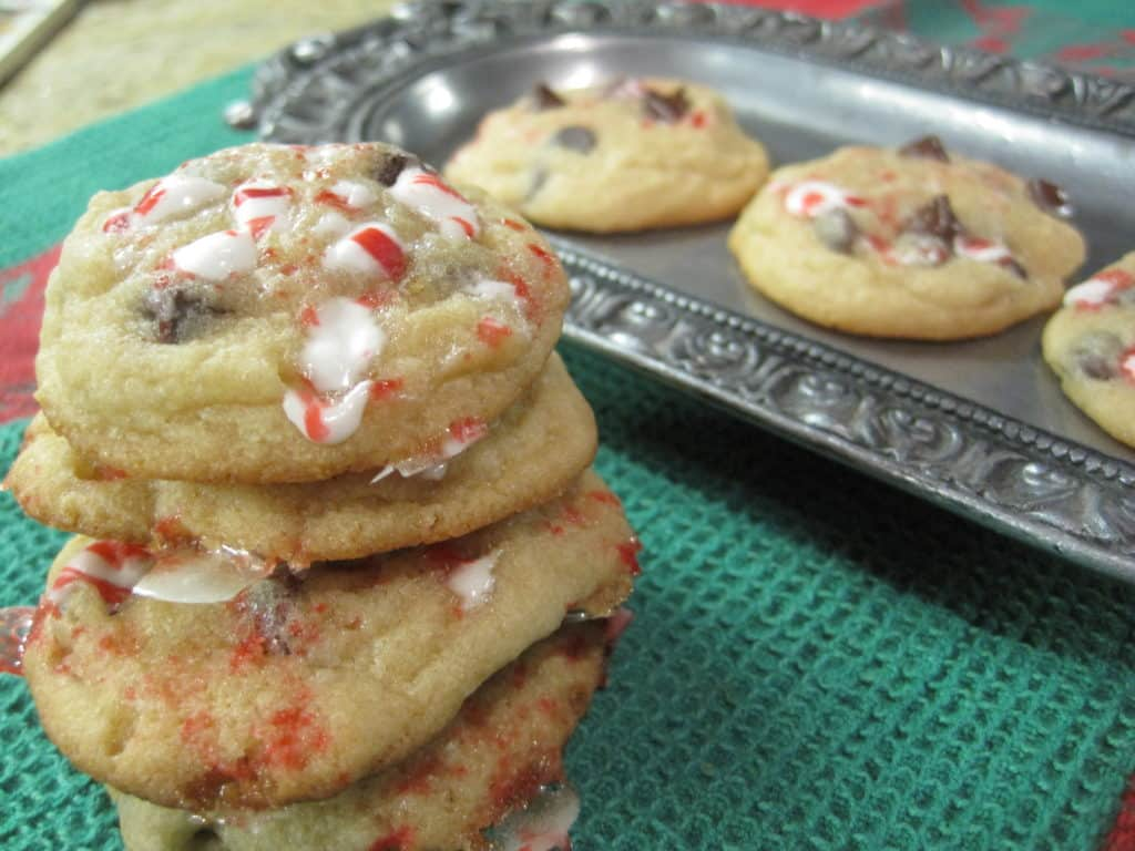 Peppermint Holiday Cookies, Easy!