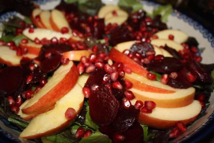 Pomegranate-Apple-Salad