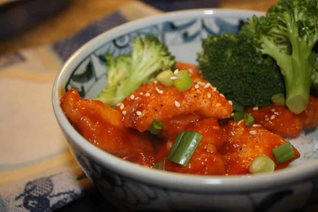 DIY-Sesame Orange Chicken, Chinese-take-out