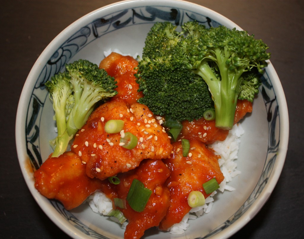 Sesame Orange Chicken - The Foodie Affair