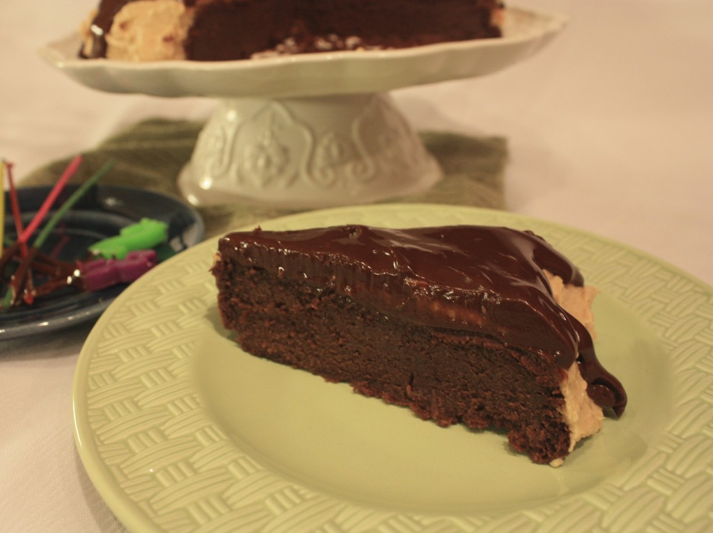 Chocolate cakes with Peanut Butter Frosting