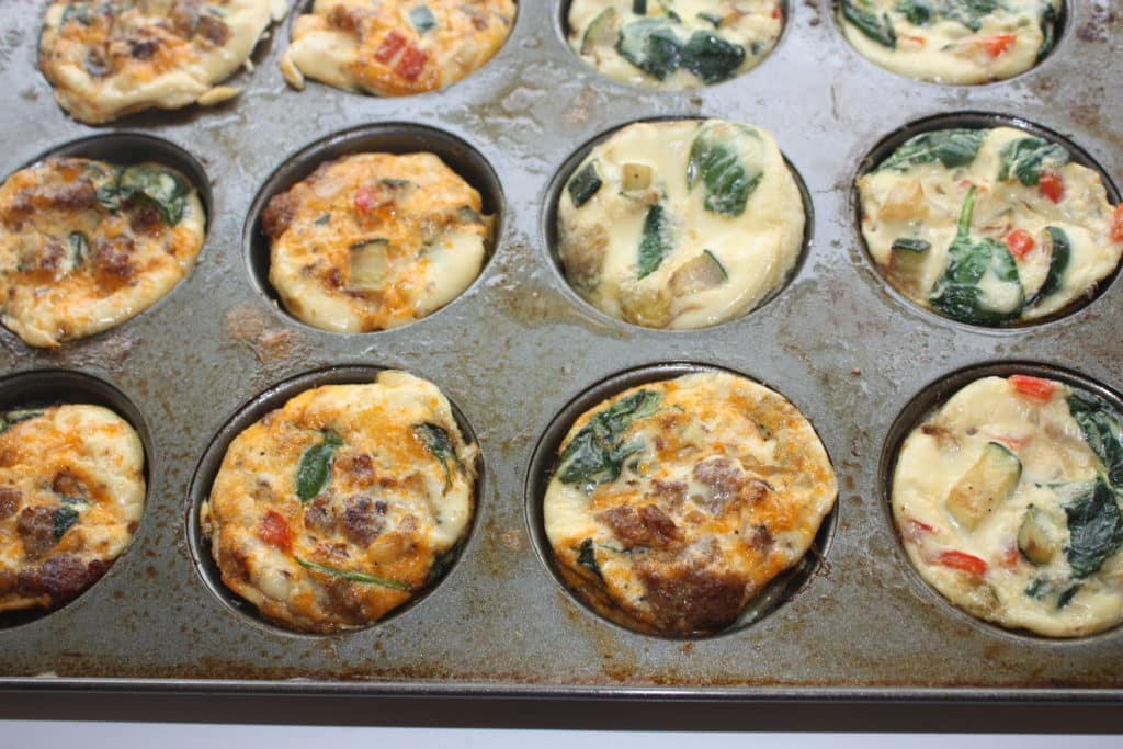 Egg Muffin Cups Packed with Vegetables and Sausage