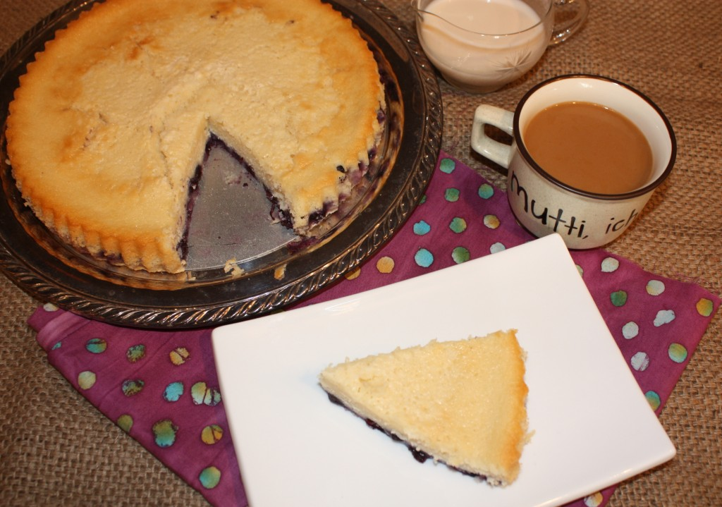 Coffee-Cake-fresh-blueberries- with-coffee-homemade coffee-creamer-DIY creamer