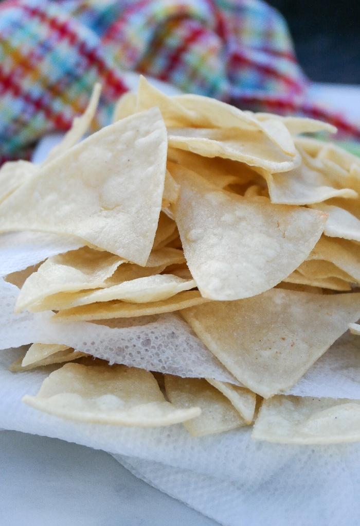 Corn tortilla chips.