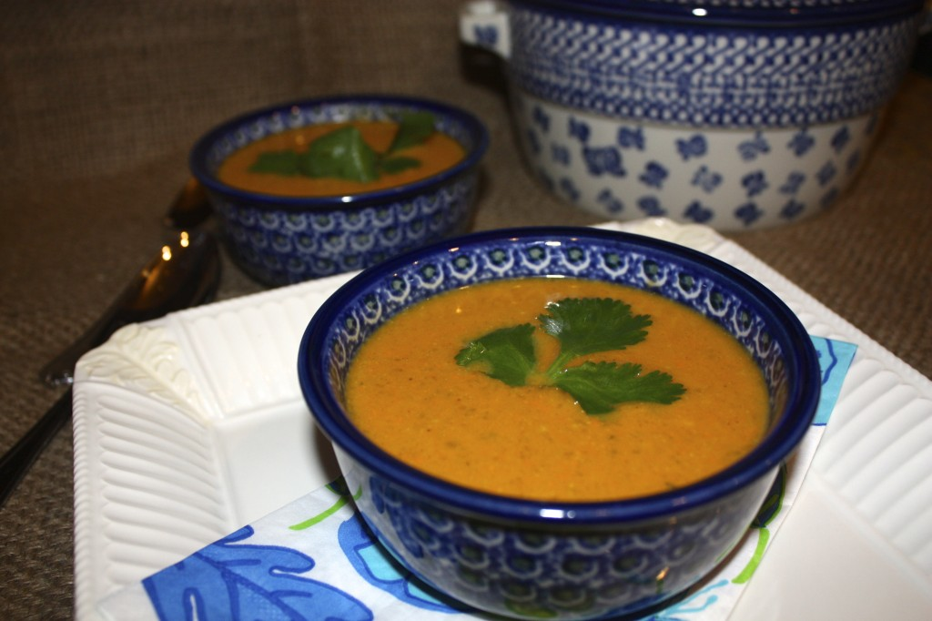 Sweet potato soup with coconut milk - The Foodie Affair