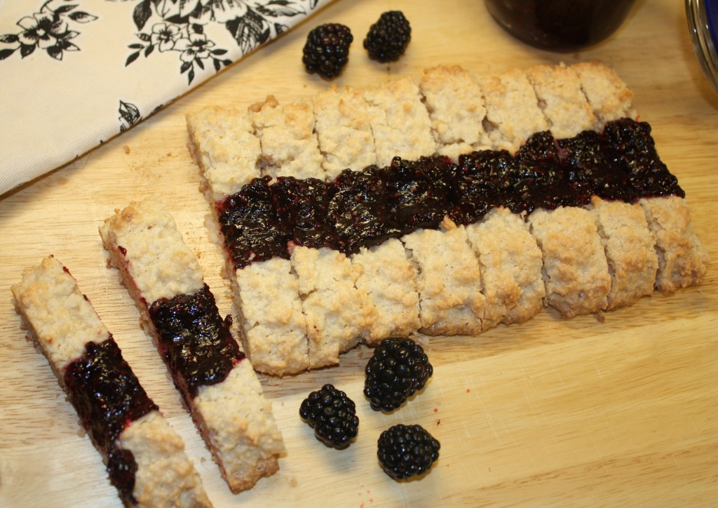 gluten-free-coconut-blackberry-jam-cookies