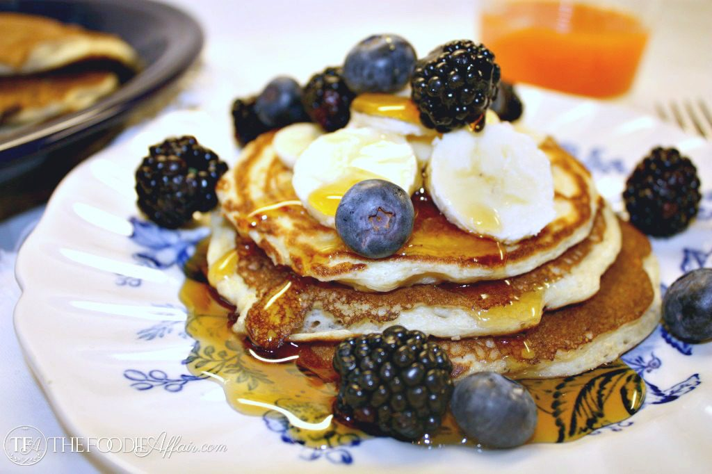 Cottage Cheese Pancakes are packed with natural protein that will keep you satisfied for hours!
