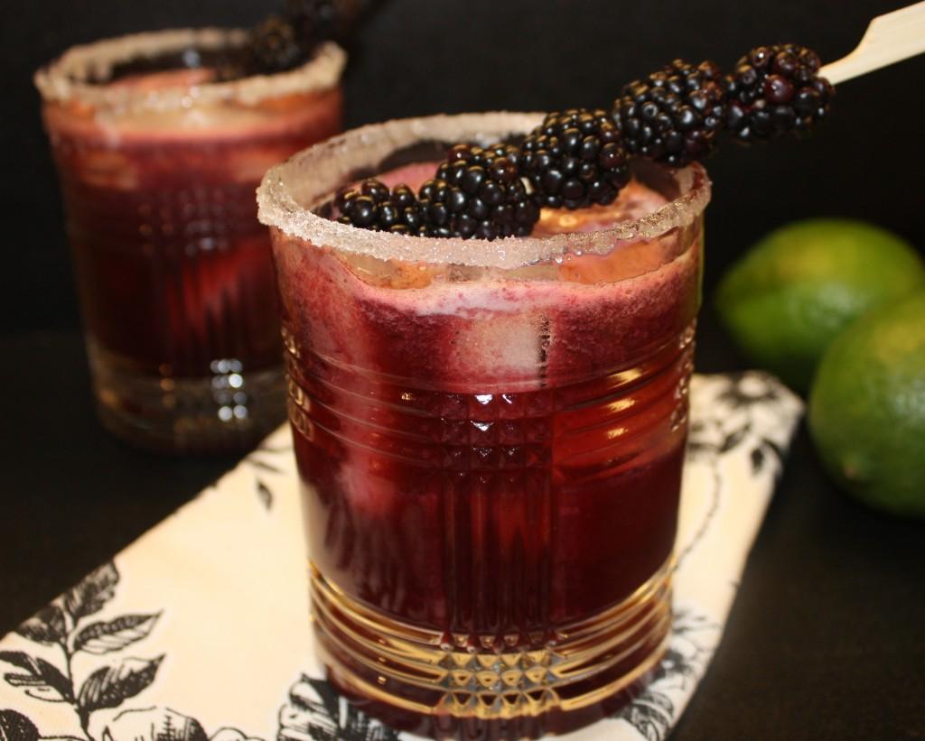 Blackberry Margarita - The Foodie Affair