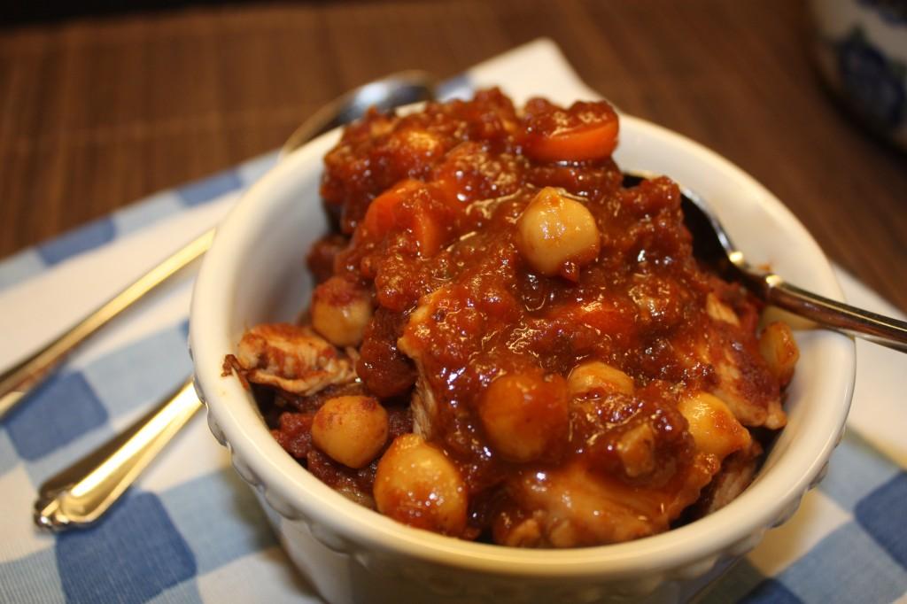 Garbanzo-beans-chickpeas-skillet-dinnner-vegitarian