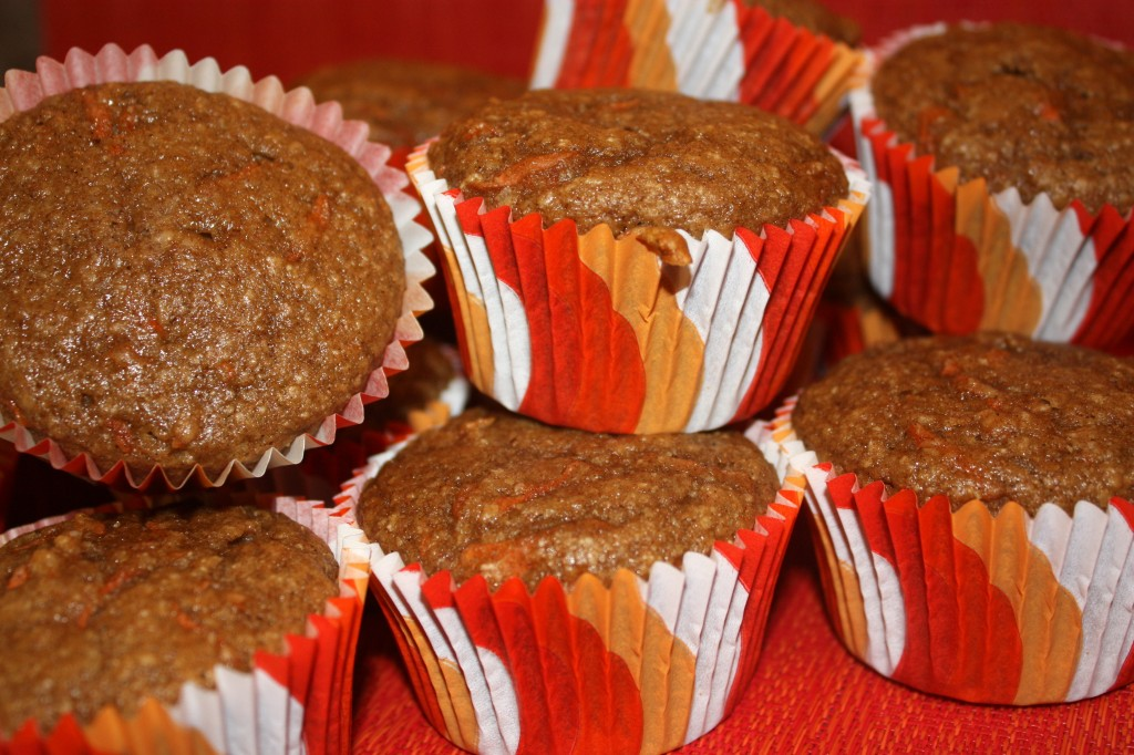 Carrot Cake Muffins-whole-wheat-breakfast-brunch-healthier