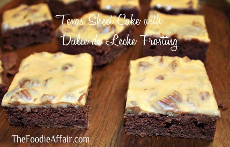 exas Sheet Cake - The Foodie Affair
