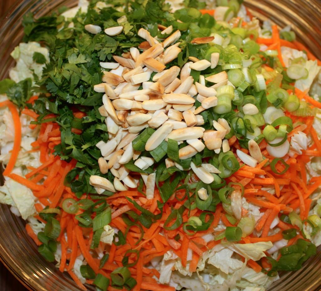 Grilled Ginger-Seasame Chicken Salad