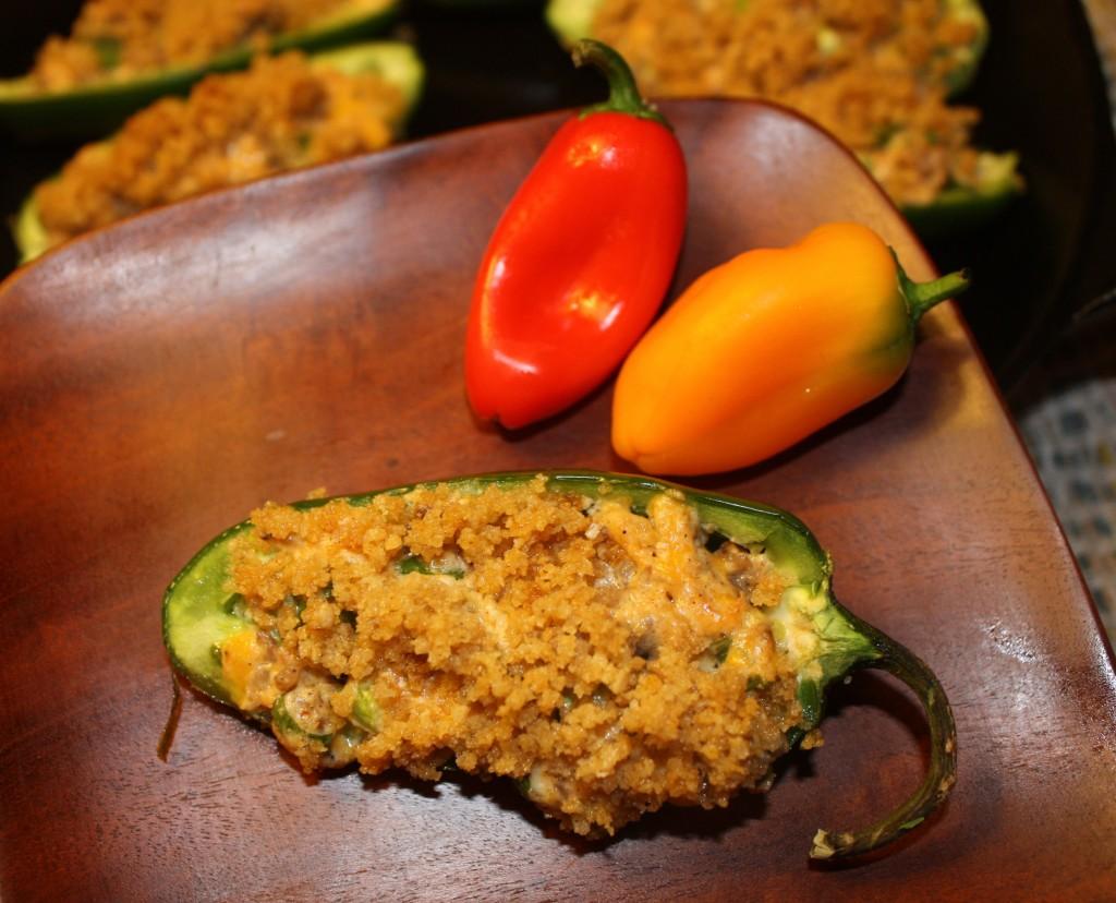 Jalapeños, appetizer, cheesy, sausage, Jalapeños