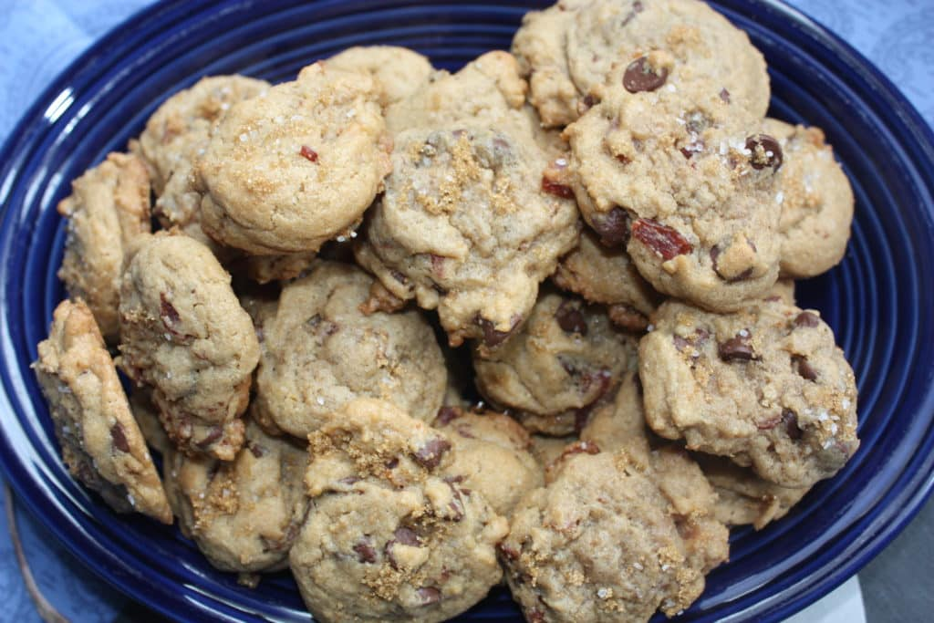 Maple-Bacon Chocolate Chip Cookies Recipe — Dishmaps