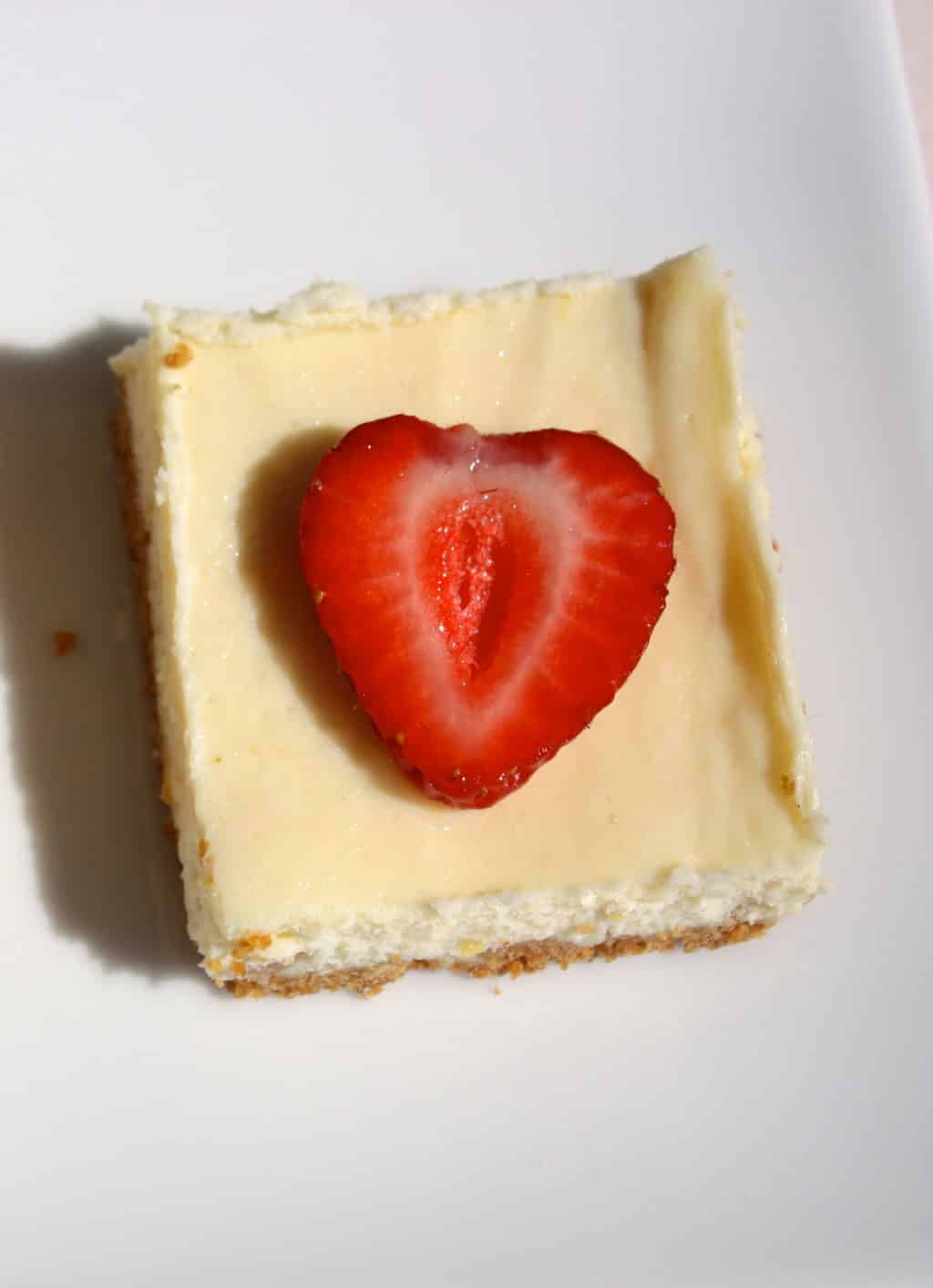 Lemon Cheesecake Squares with Fresh Berries - The Foodie Affair