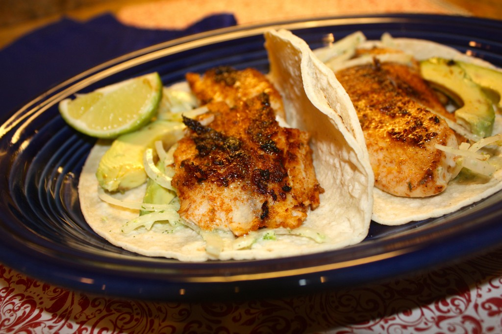 Tilapia Fish Tacos - The Foodie Affair