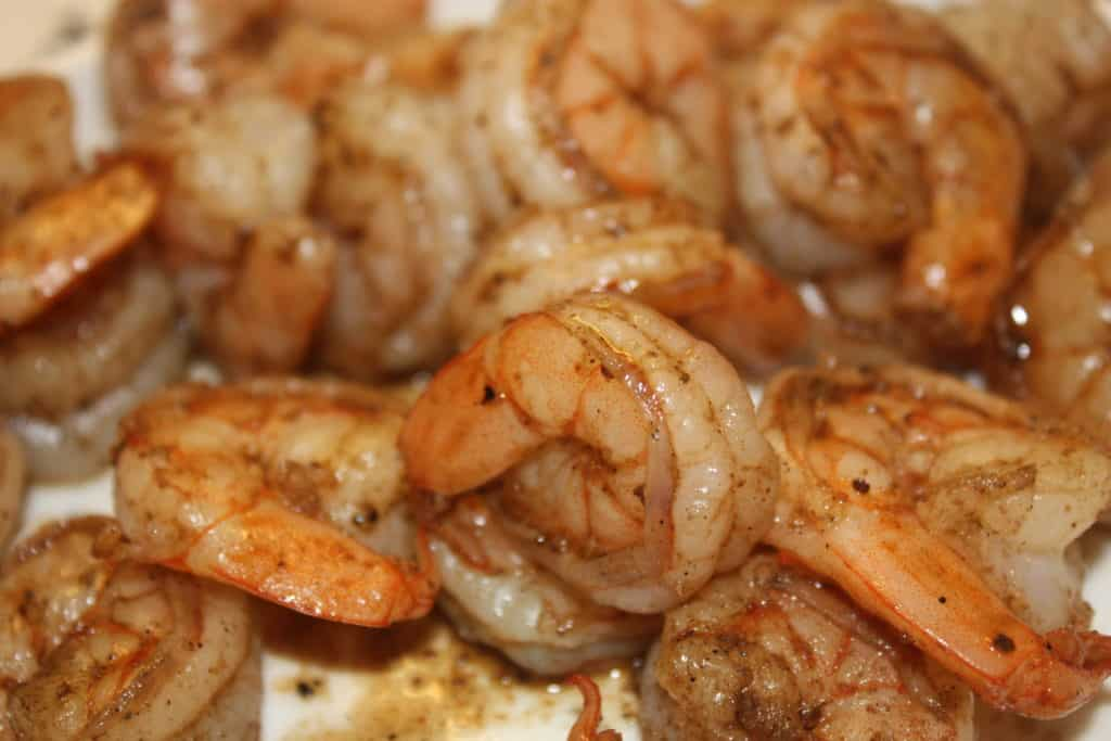 Sautéed Shrimp for Summer Salad