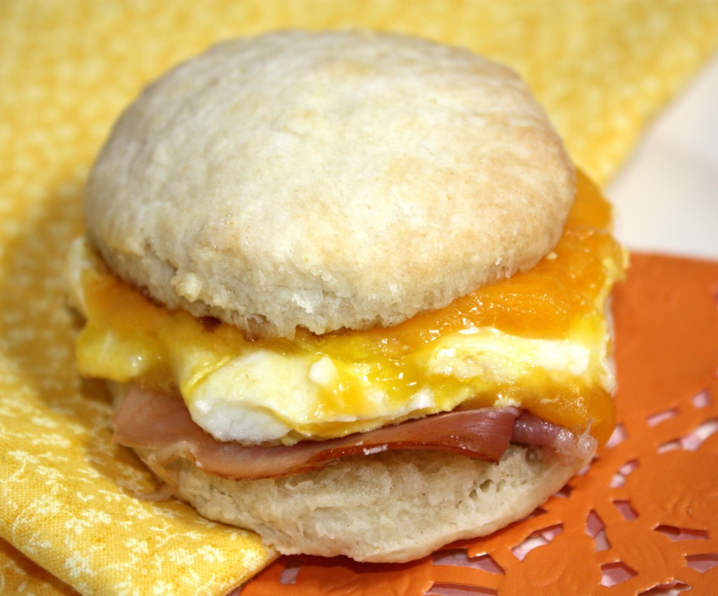 Biscuit Breakfast Sandwiches