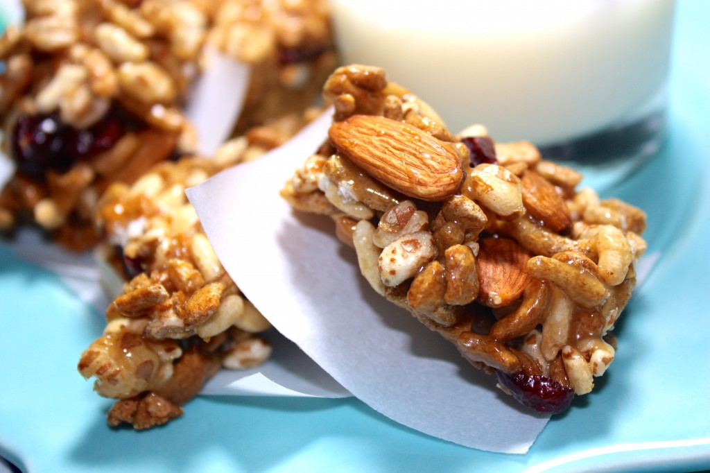 Cereal Bars using High Protein & Fiber Cereal