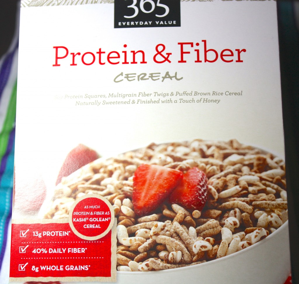 Protein & Fiber Cereal, adding cranberries and almonds. Some cereals ...