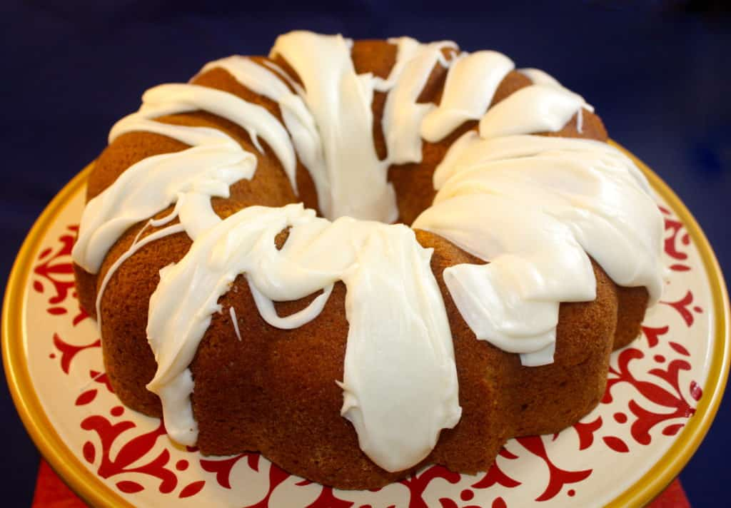 Spice Bundt Cake with Browned Butter Icing - The Foodie Affair