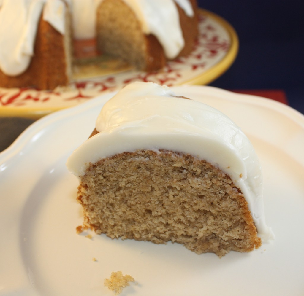 Spice Bundt Cake with Browned Butter Icing