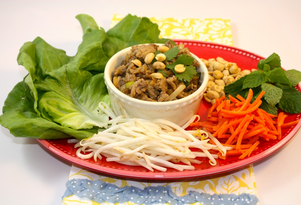 Asian Lettuce Wraps - The Foodie Affair