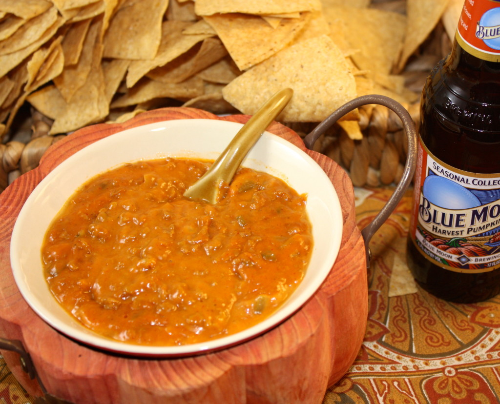 Cheesy Chorizo Beer Dip - The Foodie Affair