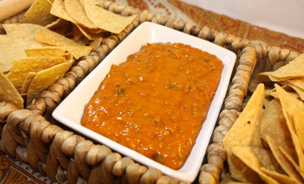 Cheesy Chorizo Beer Dip  - The Foodie Affair