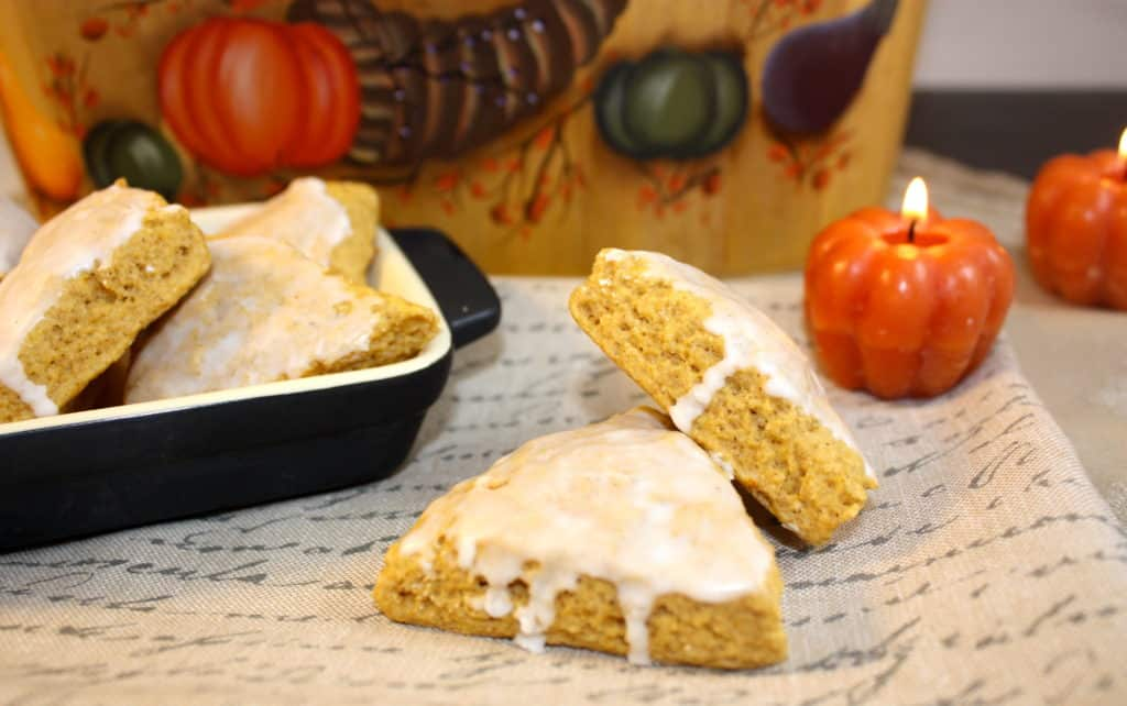 Low-fat Pumpkin Scones - The Foodie Affair