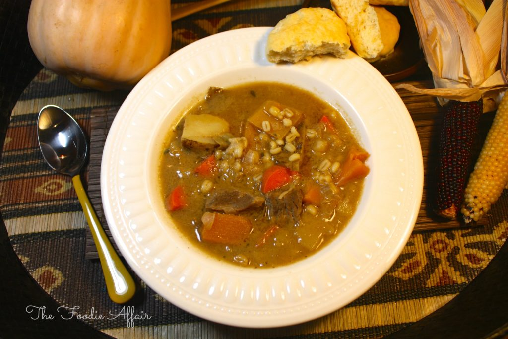Beef, Barley, and Vegetable Soup - The Foodie Affair