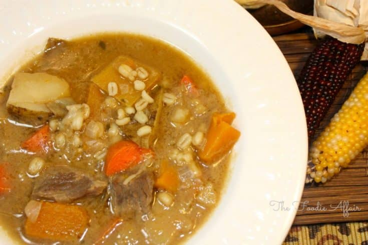 Beef, Barley, and Vegetable Soup