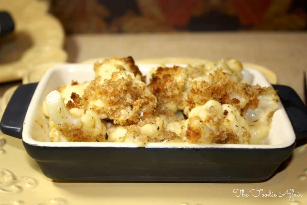 eat their veggies when you serve this cheesy cauliflower bake