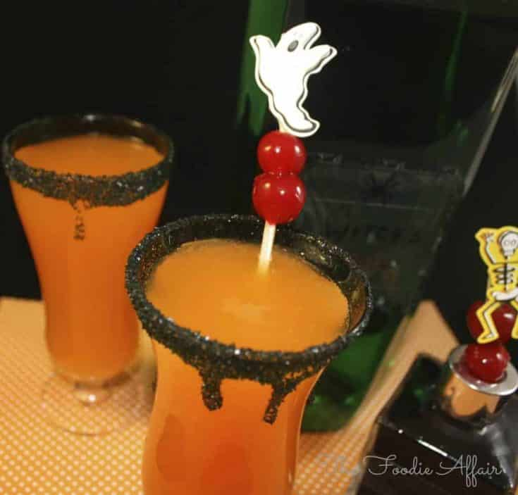 Hocus Pocus Halloween Cocktail