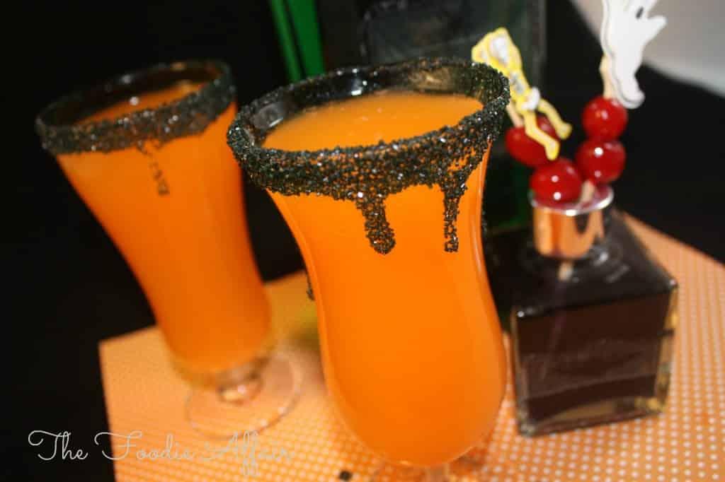 Hocus Pocus Halloween Cocktail - The Foodie Affair