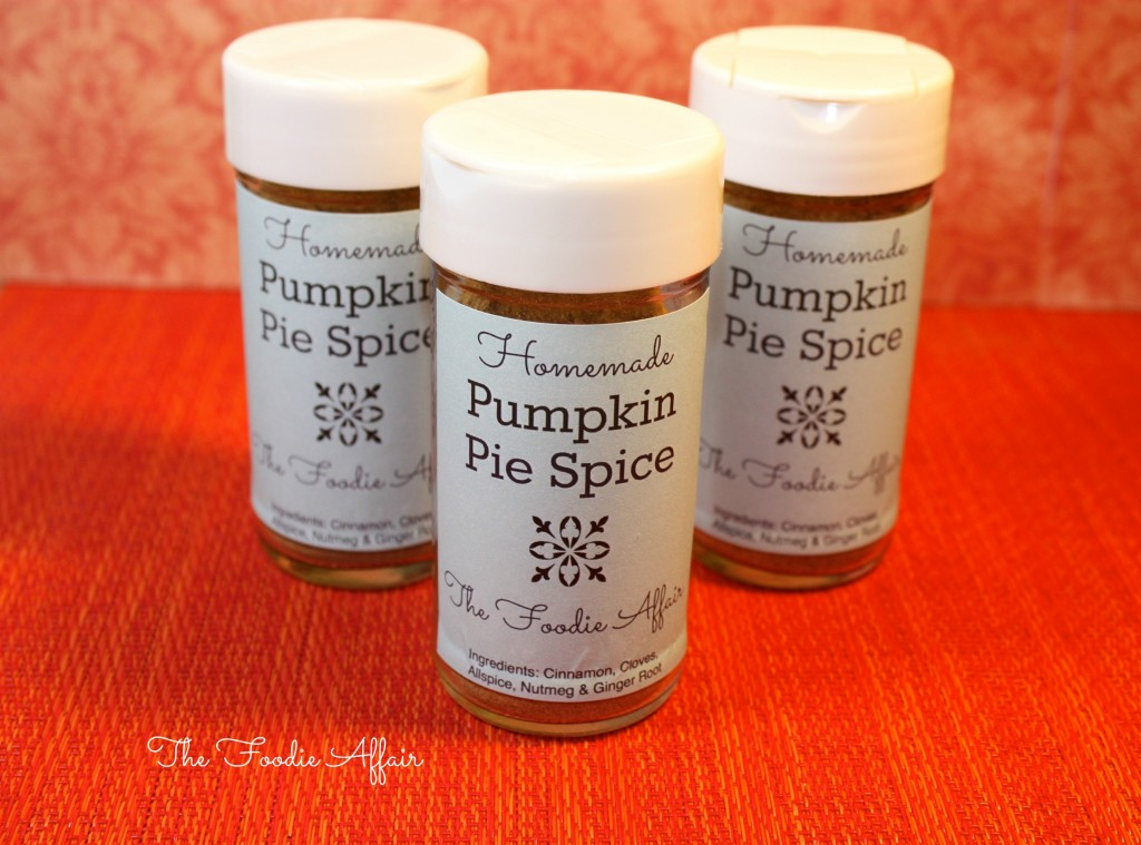 Homemade Pumpkin Pie Spice - The Foodie Affair