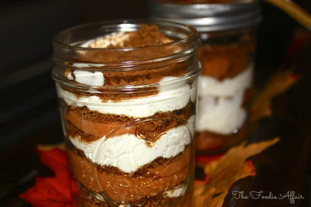 Sweet Potato Ginger Parfaits - The Foodie Affair