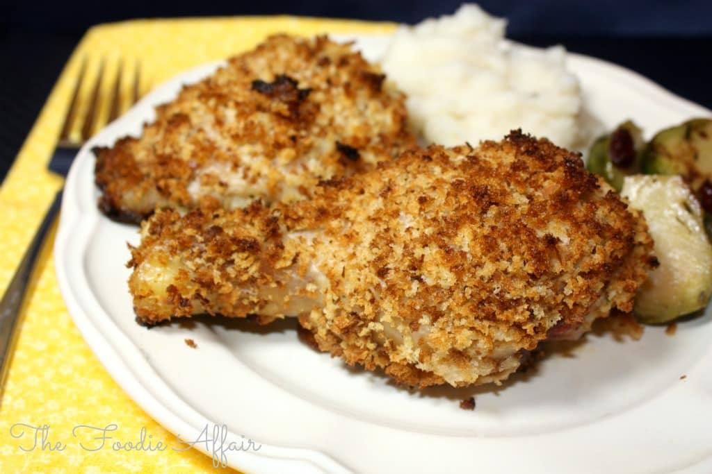 Crispy Buttermilk Baked Chicken - The Foodie Affair