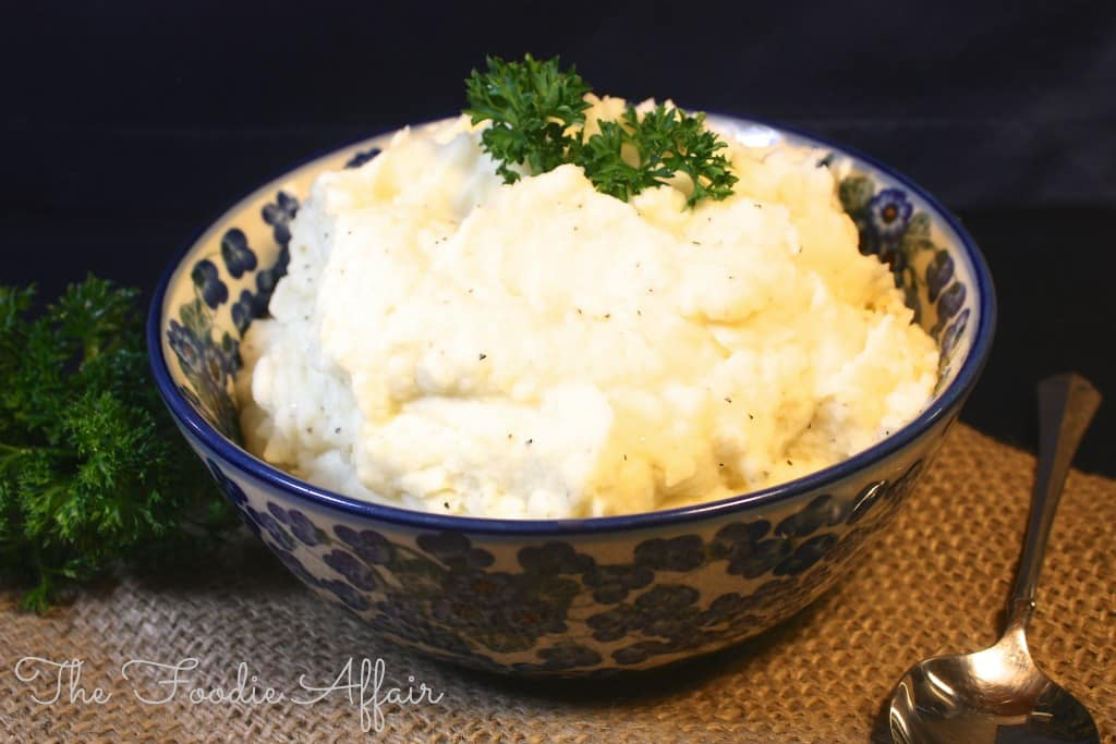 Fluffy Whipped Potatoes - The Foodie Affair