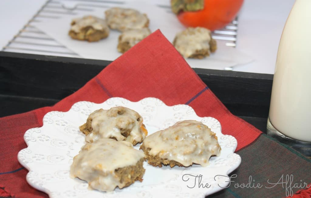 Persimmon Cookies - The Foodie Affair