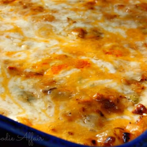 Breakfast Casserole with soy