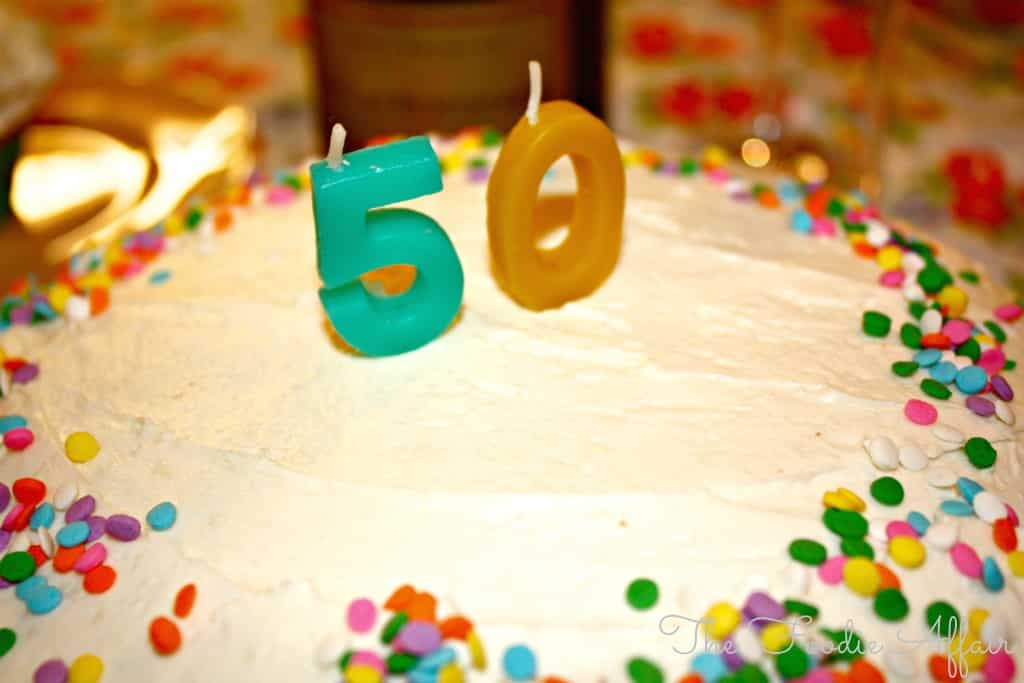Celebration Cake - The Foodie Affair