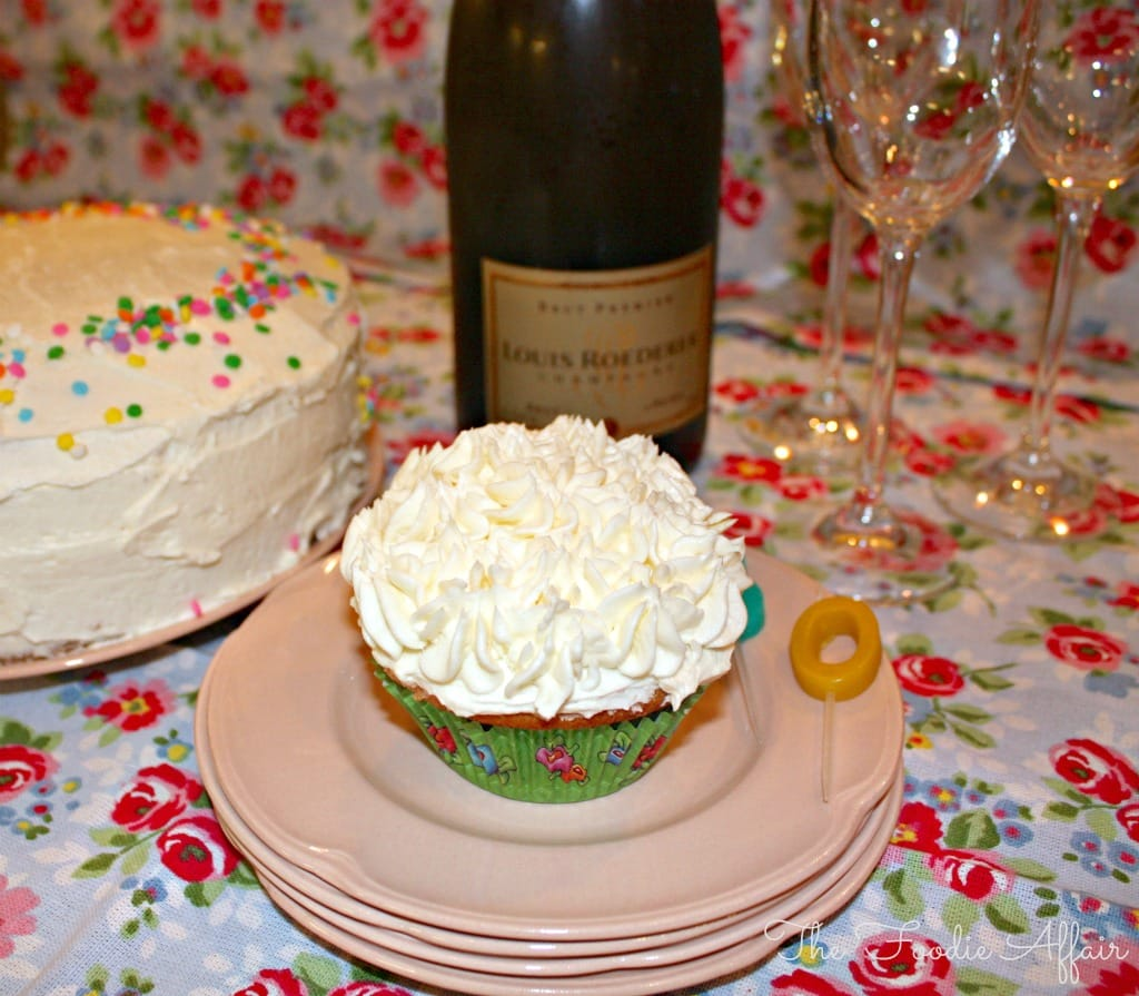 celebration cake white chocolate- The Foodie Affair