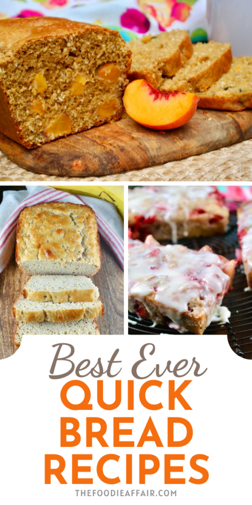Delicious quick breads to satisfy your sweet tooth.